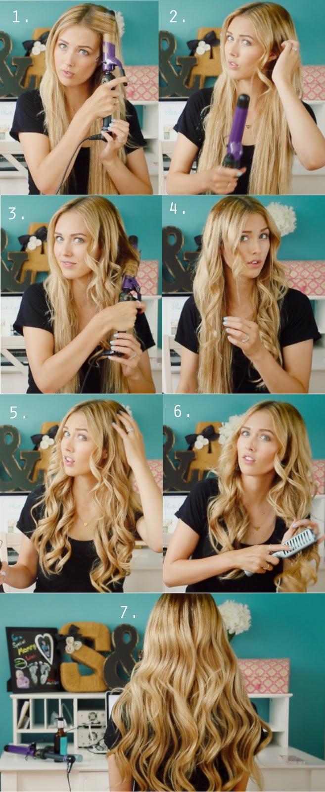 Как сделать кудри красиво на средние волосы