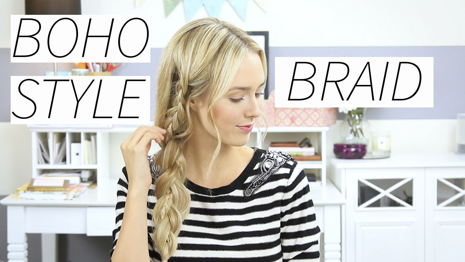 Easy Boho Braids