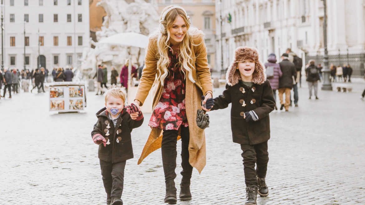 traveling overseas with young kids