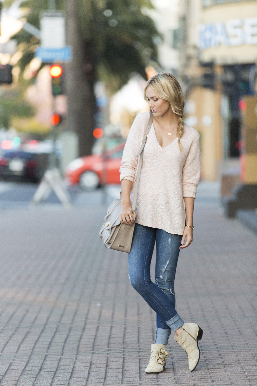 e734c73c872 Blush Sweater – Sheridan Gregory