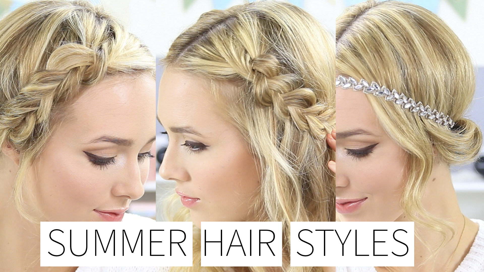 Quick & Easy Summer Hairstyles