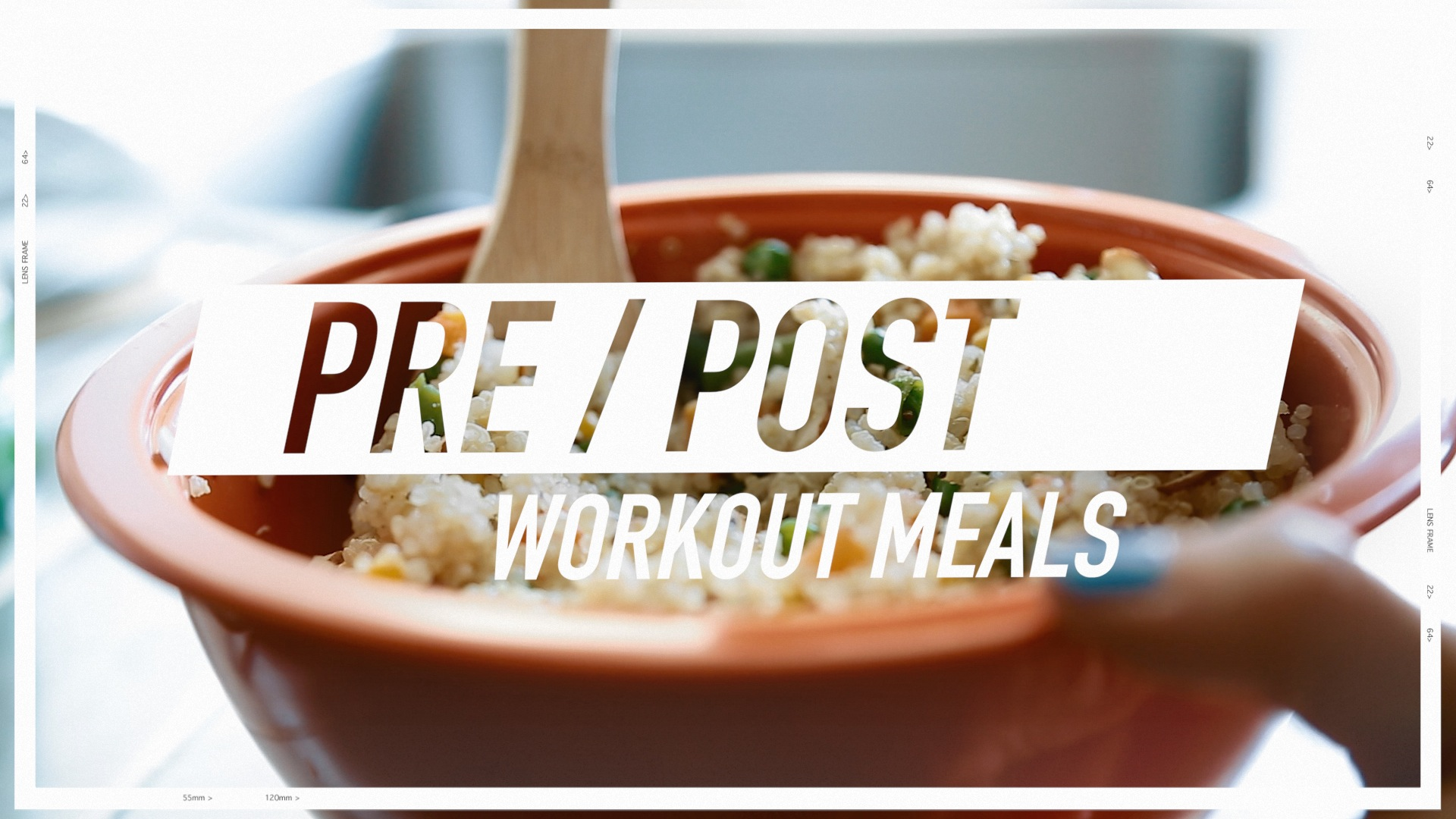 Pre Post Workout Snacks Meals