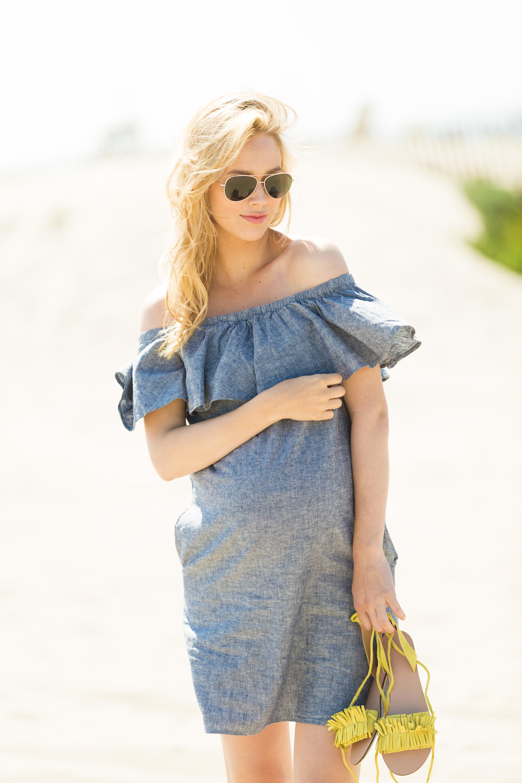ASOS Ruffled Dress