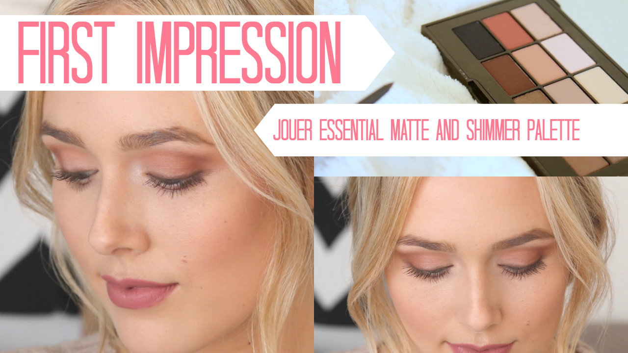 Jouer Essential Matte & Shimmer Eyeshadow Palette