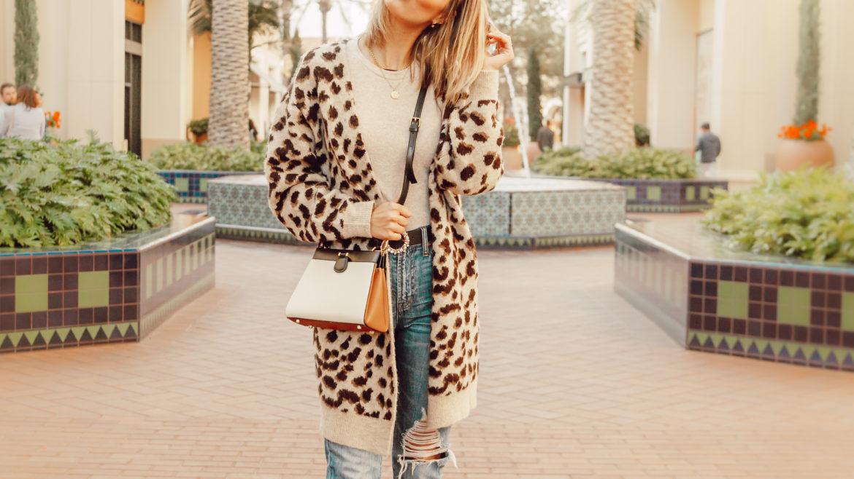 leopard cardigan 2019