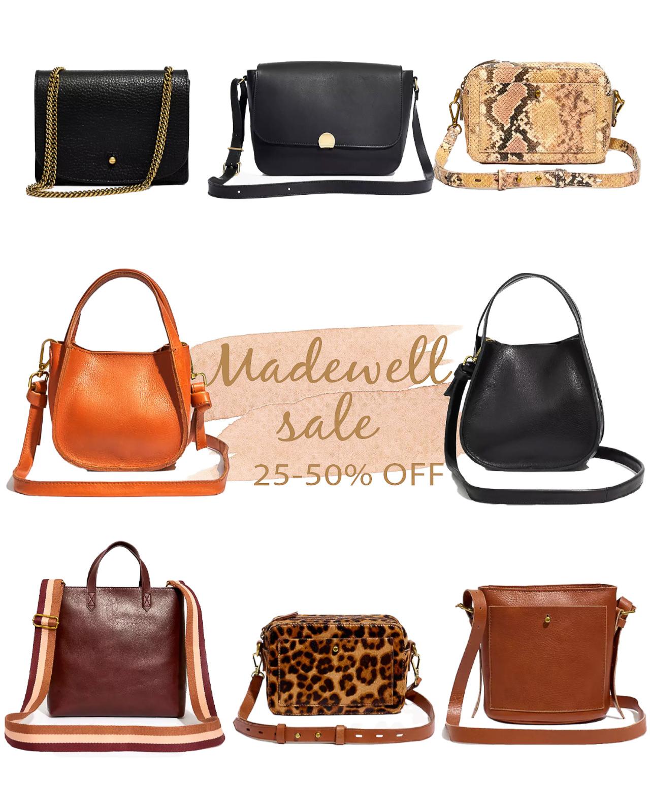 madewell sale bags