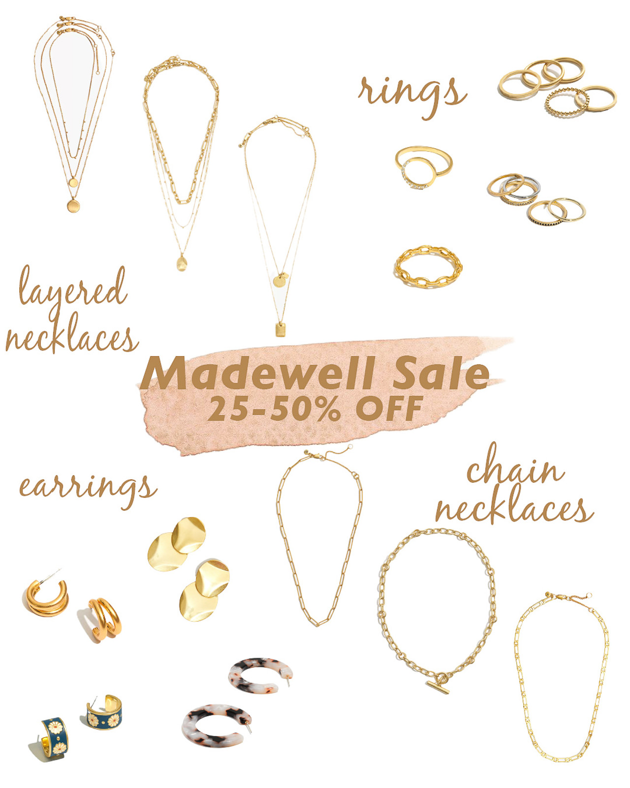 madewell sale jewelry