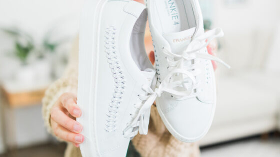 white sneakers for fall